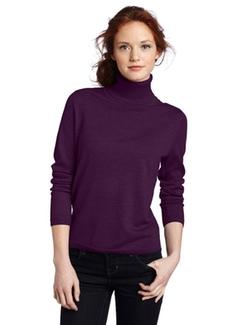Pendleton  - Petite Merino Classic Turtleneck Sweater