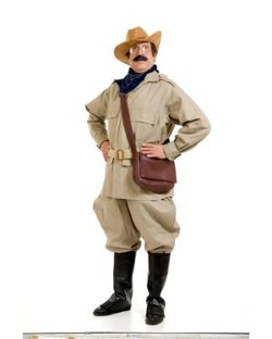 Costume Super Center - Adult Teddy Roosevelt Costume