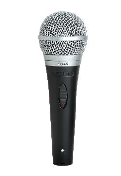 Shure  - Cardioid Dynamic Vocal Microphone