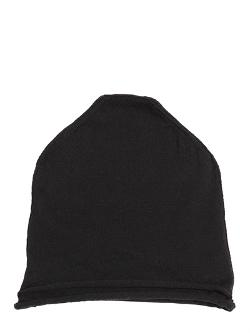 Isabel Benenato  - Double Merino Wool Knit Beanie Hat
