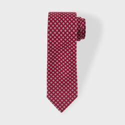 Paul Smith - Medallion Spot Narrow Silk Tie