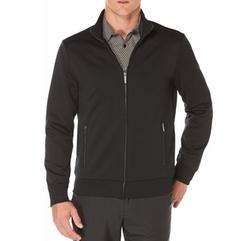 Perry Ellis - Textured Full Zip Jacket