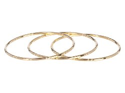 Elizabeth and James  - Berlin Engraved Stackable Bangles