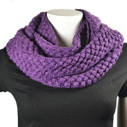 Purse Babe - Winter Knit Infinity Scarf