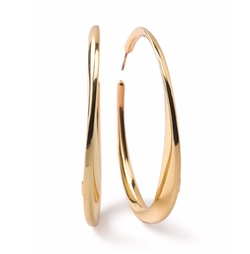 Ippolita - Glamazon Heavy Bottom Large Hoop Earrings