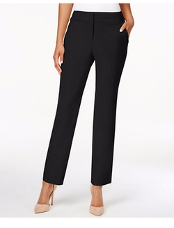 Charter Club  - Straight-Leg Cropped Pants