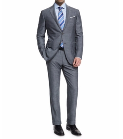 Ermenegildo Zegna - Milano Easy Herringbone Two-Piece Suit