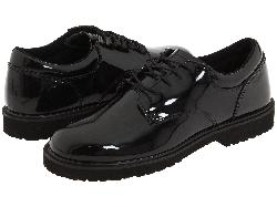 Bates - Footwear High Gloss Uniform Oxford