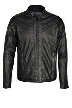 Boohoo - Padded Shoulder Biker Jacket