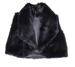 Caldore USA  - Little Girls Faux Fur Vest