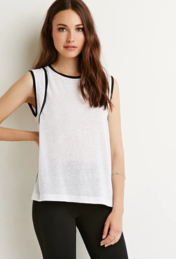Forever 21 - Contemporary Contrast Top