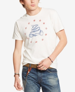 Denim & Supply Ralph Lauren - Cotton Jersey Graphic T-Shirt