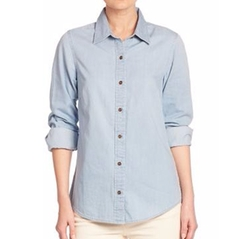 Vineyard Vines - Chambray Button-Front Shirt