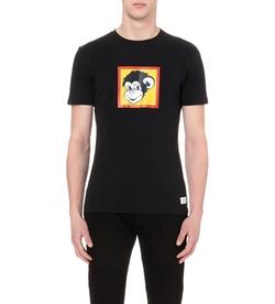 Paul Smith Jeans - Monkey-Print T-Shirt