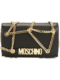 Moschino - Chain Embellished Clutch