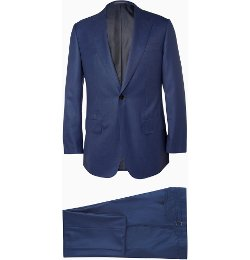 Lutwyche   - Blue Check Wool Suit