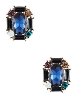Cara  - Rhinestone Cluster Stud Earrings