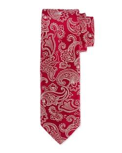 Charvet - Floral-Paisley Silk Tie