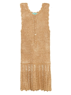Melissa Odabash - Rosie Metallic Crochet Dress