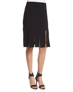 Kendall + Kylie - Mid-Rise Carwash Skirt