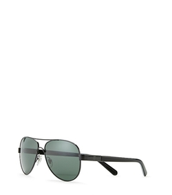 Tory Burch - Small Metal Aviator Sunglasses