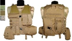 Army Surplus World - Molle Vest W/ Removable Pouches