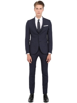 Daniele Alessandrini Grey  - Techno Shantung Evening Suit