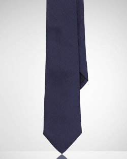 Ralph Lauren Black Label - Solid Peau De Soie Tie