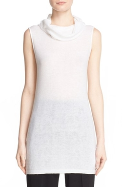 Rick Owens - Cowl Neck Sleeveless Top