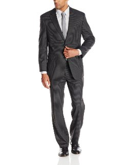 Jones New York - Graham Two-Button Side Vent Pinstripe Suit