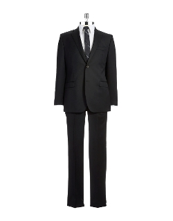 Ralph Lauren - Slim Fit Two-Piece Wool Pants Suit