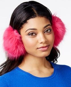 Betsey Johnson - Trolls Faux-Fur Ear Muffs