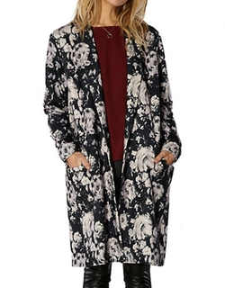 BB Dakota - Floral Duster Coat
