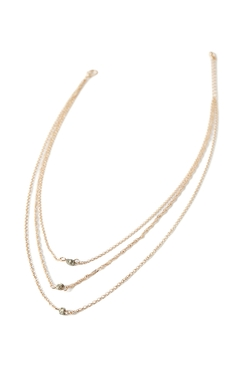 Forever21 - Layered Faux Stone Necklace