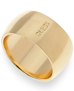 Guess - Logo Wide Band Ring