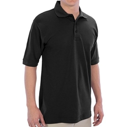 Ultraclub - High-Performance Elite Polo Shirt - Pique Cotton Blend, Short Sleeve