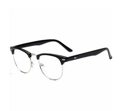 Framework - Classic Half Frame Clear Glasses