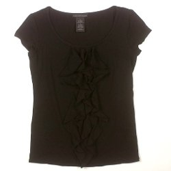 Grace Elements  - Womens Ruffle Shirt