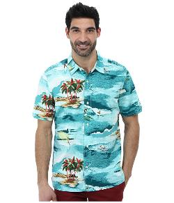 Tommy Bahama  - Island Modern Fit Surfrider Cruiser S/S Shirt