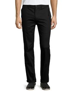 Helmut Lang  - Flap-Pocket Straight-Leg Trouser Pants
