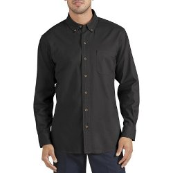 Dickies  - Solid Long-Sleeve Utility Shirt