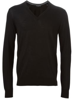 Dolce & Gabbana  - V-Neck Sweater