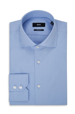 BOSS - Easy Iron Cotton Dress Shirt