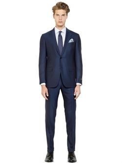 Ermenegildo Zegna   - Milano Easy Wool Herringbone Suit
