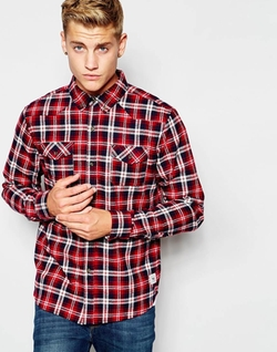 Bellfield - Flannel Check Shirt