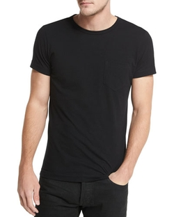 Tom Ford - Crewneck Short-Sleeve Tee