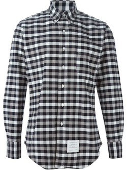Thom Browne - Checked Button Down Shirt