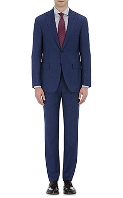 Canali - Herringbone-Weave Two-Button Suit