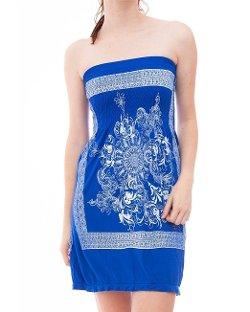 Yi Tong   - Strapless Tube Dress