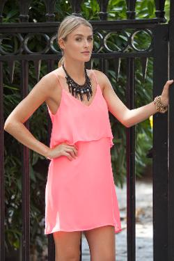 Polished Boutique - Pinky Lady Dress